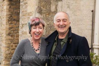 Jane with Sir Tony